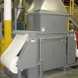 Particulate Control from Plastic Extrusion Process